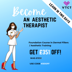 Become An Aesthetic Therapist Offer