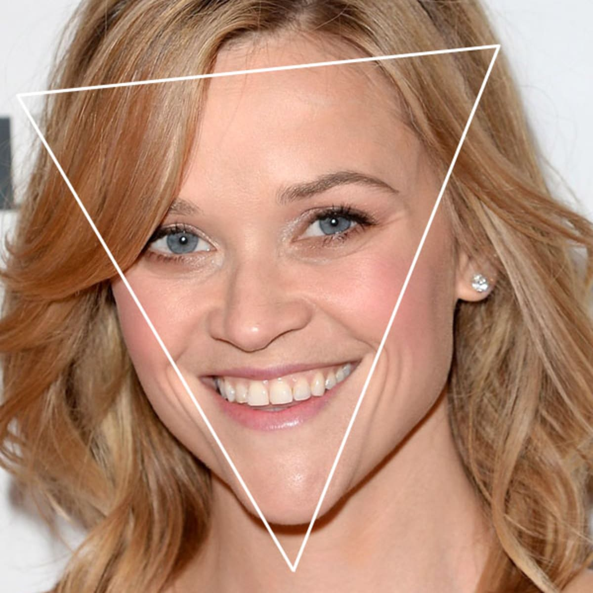 Reese Witherspoon Inverted Triangle Face